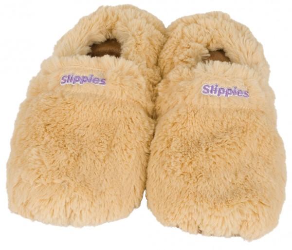 Warmies Slippies Deluxe, creme (Größe 36-40)