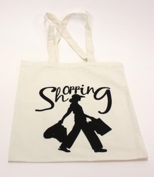 """Stoffbeutel """"Shopping"""" (38 x 42 cm)"""