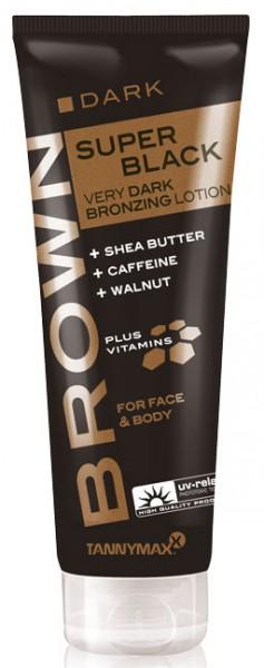 Tannymaxx Brown Super Black Very Dark Bronzing Lotion 125 ml