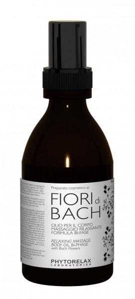 Phytorelax Fiori di Bach Relaxing Massage Body Oil Bi-Phase 200 ml