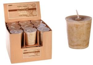 Votivkerze mit Aroma (5 x 4,5 cm) - Vanilla